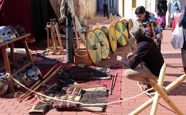 Vuelta al pasado con el Mercado Medieval de Gamonal