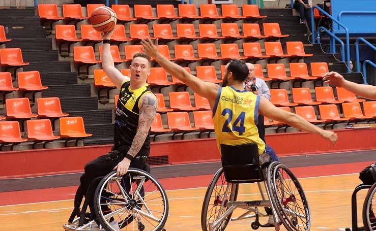 La final de la Copa del Rey de baloncesto en silla de ruedas