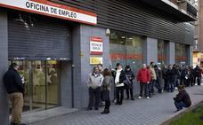 El paro baja en Castilla y León un 0,85%, y cierra el mes con 162.628 desempleados