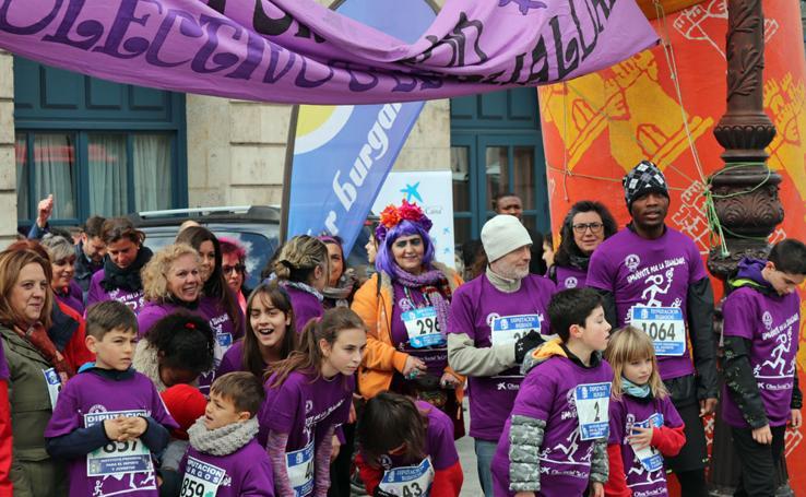 Burgos corre contra las brechas de género