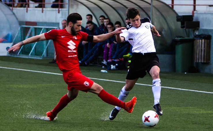 El Burgos CF cae ante el Gernika