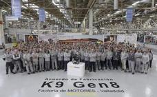Renault inicia en Valladolid la producción del motor diésel adaptado a las bajas emisiones
