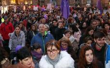 El feminismo saca a la calle a 9.000 manifestantes