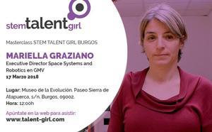 Mariella Graziano impartirá este sábado la quinta masterclass del proyecto Stem Talent Girl