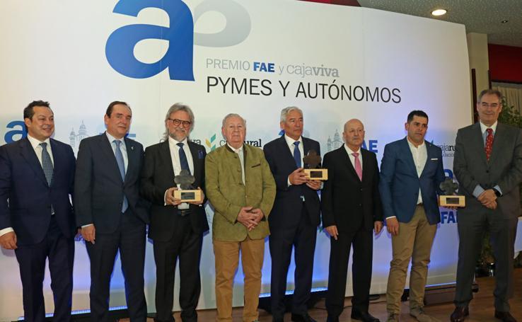 Premios Pymes y Autónomos de FAE y Cajaviva