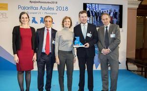 El Ayuntamiento de Burgos recibe el premio Tres Pajaritas Azules por su gestión del reciclaje