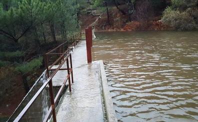 El temporal deja cifras históricas en la provincia de Ávila y los embalses casi al 100%