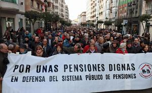 Más de 4.000 burgaleses reclaman unas pensiones dignas