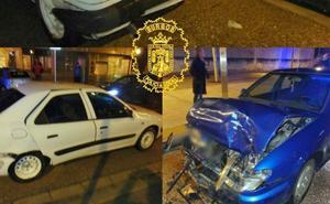 Tres heridos leves en un accidente en el que el conductor dio positivo en alcoholemia
