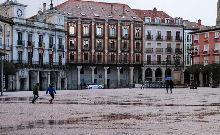 Granizada en Burgos