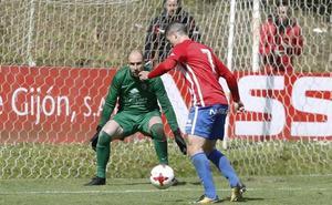 El Burgos CF no puede con la pegada del Sporting B