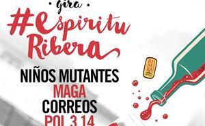 Los Niños Mutantes, Maga, Defalé, Correos y Pol compartirán escenario en la gira #EspírituRibera 2018