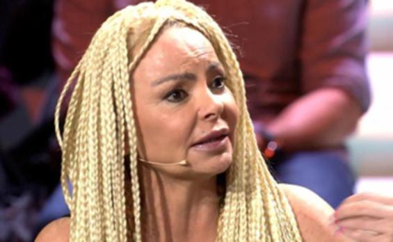 Leticia Sabater, 'pierde' la peluca en el debate de 'Supervivientes'