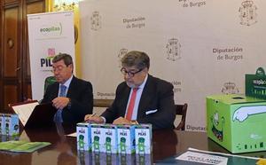 La Diputación y Ecopilas renuevan su compromiso con el medio ambiente