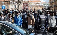 Cinco policías resultan heridos leves en nuevos disturbios en Lavapiés