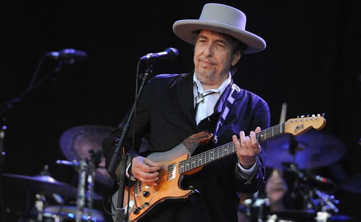 Bob Dylan, su vida en imágenes