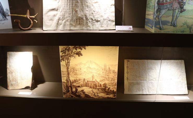 El Cid recala en el Museo del Libro