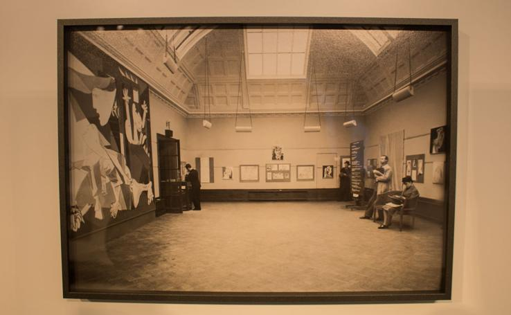 Adelanto de la exposición 'Picasso. El viaje del Guernica'