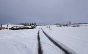 Protección Civil avisa de posibles nevadas en las zonas montañosas de Burgos