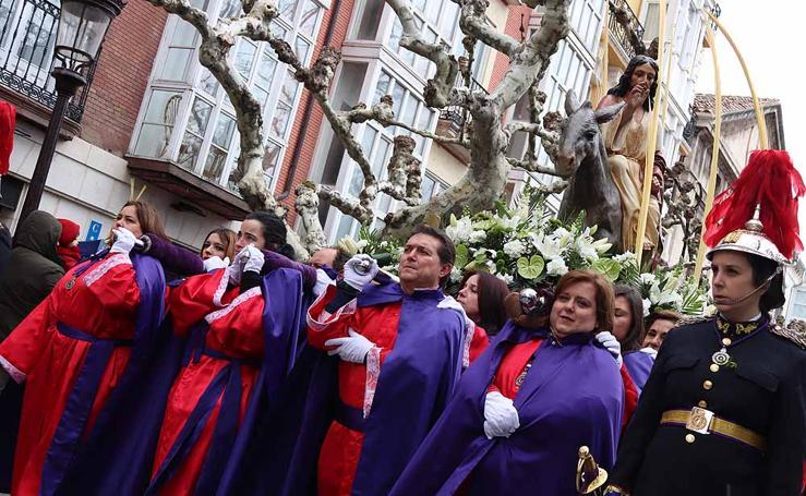 Las imágenes de la Procesión de Jesús en La Borriquilla
