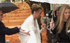 Gemma Mengual se casa con Enric Marín, tras diez años de novios