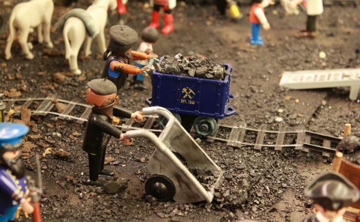 Exposición 'Playmineros' en el Museo de la Evolución Humana