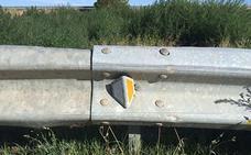 Cs pide a la Diputación el arreglo de los guardarrailes de las carreteras provinciales