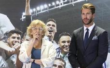 Sergio Ramos, atrapado por el ladrillo y Manuela Carmena