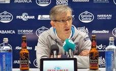 Moncho Fernández: «Burgos es un equipo muy serio, nunca se desengancha»