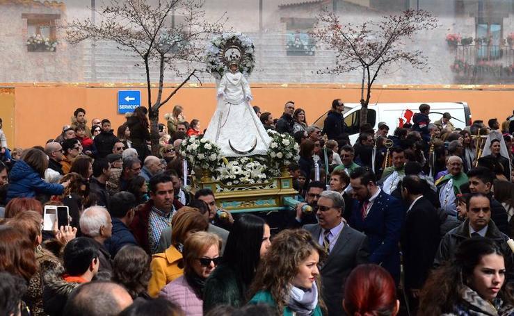 Aranda ha revivido su tradicional Bajada del Ángel