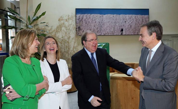 Rodríguez Zapatero participa en la jornada 'Oportunidades de Responsabilidad Social en la Ley de Contratos del Sector Público' celebrada en Valladolid
