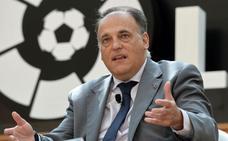Javier Tebas ofrecerá una charla de la mano de la Fundación Burgos CF