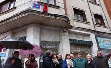 Ana Lopidana ya tiene su calle