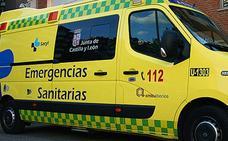 Una burgalesa, herida grave en un accidente en Abejar