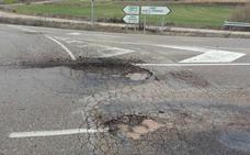 Cs denuncia el estado «lamentable» de las carreteras rurales