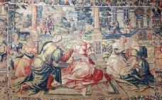 Los tapices de la Catedral de Burgos, al descubierto