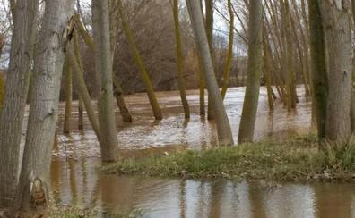 El Arlanza, el Odra y el Ubierna, en nivel de alerta por crecida del caudal
