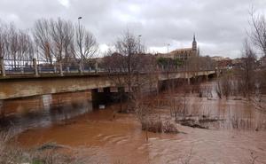 El Arlanza mantiene el nivel de Alerta en Peral y Quintana del Puente