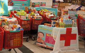 Cruz Roja recogerá alimentos este fin de semana en los supermercados del grupo Alcampo