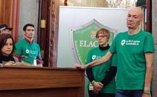 Jesús Gómez, afectado por ELA, le pone emoción y sentido común al pleno municipal