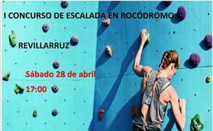 Revillarruz acoge el 28 de abril el I Concurso de Escalada en Rocódromo