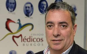 Joaquín Fernández de Valderrama revalida su cargo al frente del Colegio de Médicos de Burgos