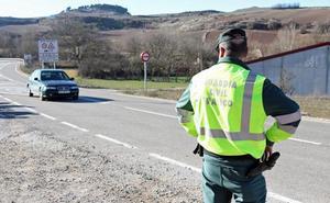 13 positivos en drogas y 12 en alcohol durante el fin de semana en las carreteras burgalesas