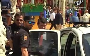 José María Gil Silgado, detenido en la Feria de Abril de Sevilla