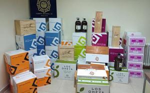 Detenido tras robar más de 5.000 euros de vino y aceite en un restaurante de Aranda