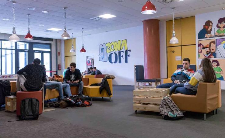 La UBU estrena 'Zona Off', un espacio de esparcimiento para los estudiantes