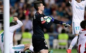 Kepa: «Nunca había jugado en el Bernabéu y tenía ganas de hacerlo»