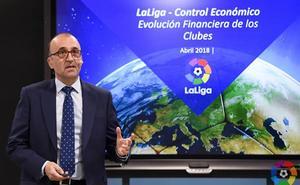 LaLiga ingresó 3.662 millones la pasada temporada, un 15,4% más