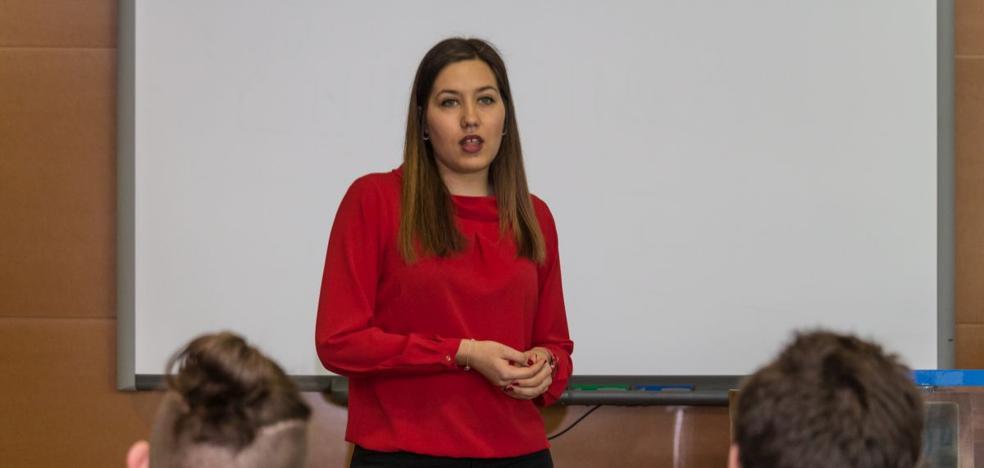 Paula Antón, elegida presidenta del Consejo de Alumnos de la UBU