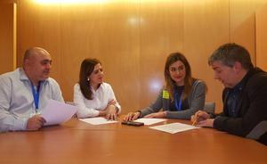 Peña pregunta al Gobierno por sus planes de ampliar la depuradora de Miranda